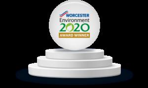 Worcester Environment 2020 Awards - Award Winner Badge